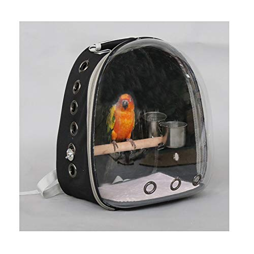 NYKK Small Bird Cage/Cottages Bird House Bird Carrier Bag Travel Box Parrot Out Backpack Myna Out Cage Portable Bird Travel Cage Outdoor Villa Bird cage/Nest Box Birdhouse Birds