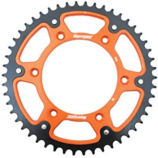 Supersprox Stealth Rear Sprocket 50 Tooth Orange for KTM 500 EXC 2012-2016