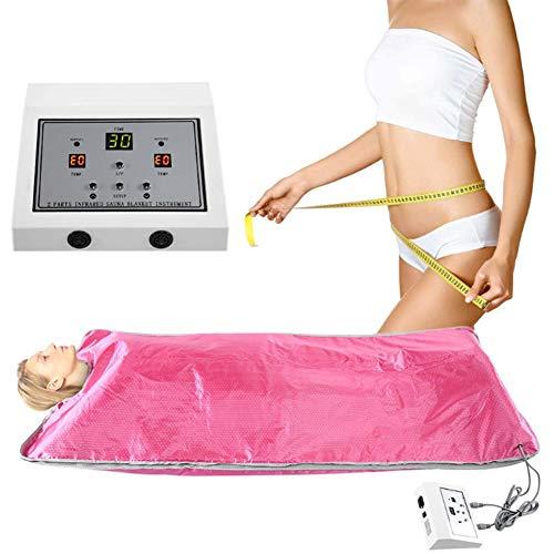 Far-Infrared Saunadecke 2 Zonen Gewichtsverlust Spa Detox Abnehmen Maschine Fitness Anti Aging Maschine für Schönheitssalon SPA Heimgebrauch Fauay