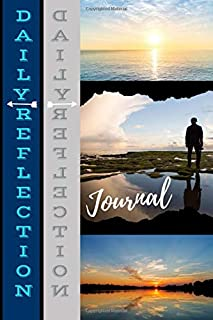 Daily Reflection Journal: Ideal Compact Notebook Style for Morning or Night Daily Reflecting on Life. Perfect Gift for Teens.