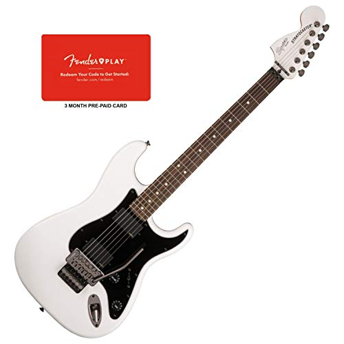 Squier Contemporary Active Strat Olympic White HH...