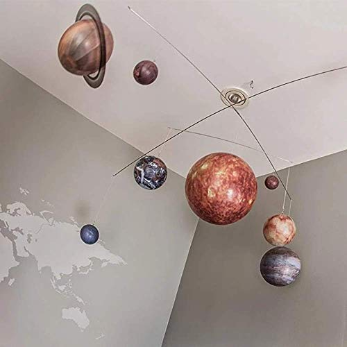 Planets Mobile - Hanging Solar System Mobile, Authentic Models