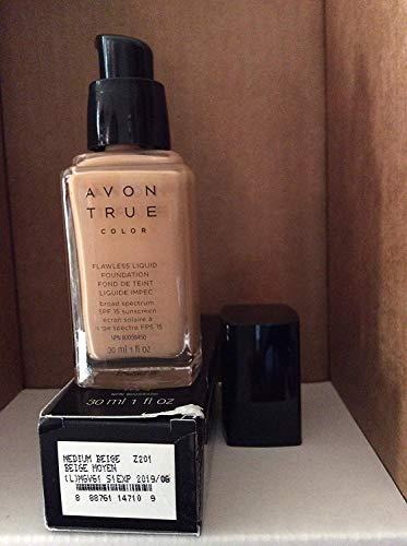 Avon TRUE Color Ideal Flawless Liquid Foundation broad spectrum SPF 15 sunscreen MEDIUM BEIGE