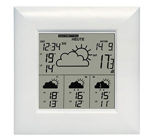Technoline WD 4000 - Estación Meteorológica, Color Plateado Y Blanco