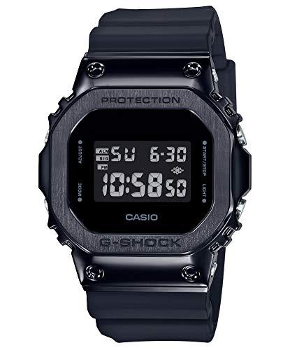 [カシオ] 腕時計 ジーショック メタルカバード GM-5600B-1JF メンズ ブラック