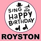 Happy Birthday Royston (Pop Ballad Version)