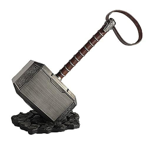 Thor's Hammer Decoración Juguetes The Thunders Hammer Halloween Cosplay Toy Props Thor Hammer Regalos para Niños Adultos
