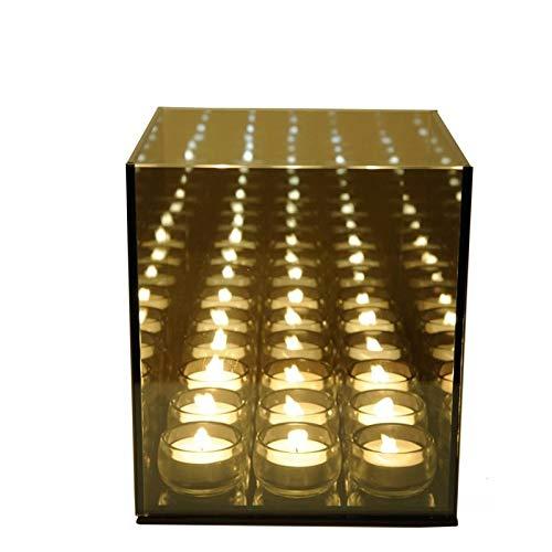 Unbekannt Teelichthalter Excel Infinity Light 9 Cube