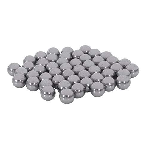 Yantan 50 rodamientos de bolas de acero de 10 mm de diámetro para bujes de bicicleta