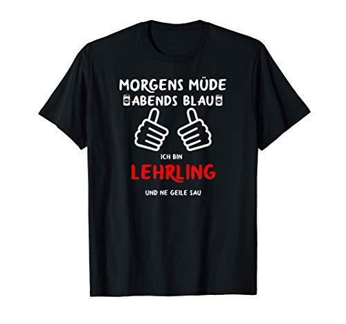 Lehrling Ausbildung Geschenke 2021 Stift Auszubildender T-Shirt