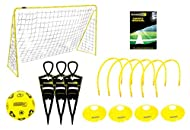 Kickmaster Ultimate Football Challenge Gift Set with Games Manual