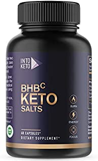Weight Loss Pills, Keto Advanced, Formulated for Women and Men, Energy Boost with BHB Exogenous Ketones - 60 Capsules