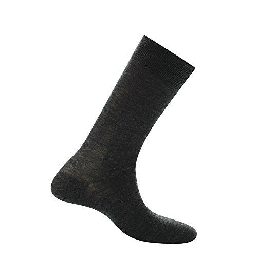 Kindy Herren 42081 Socken, Grau (Anthracite), 44 (Herstellergröße: 44/46)