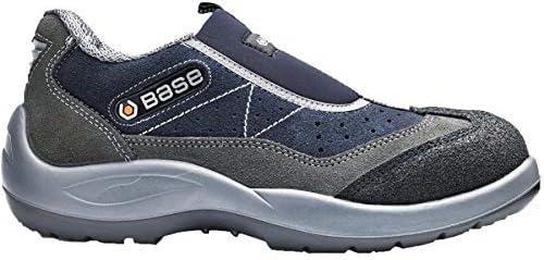 Base BO440 Mechanic S3 Titanium Zapatillas antideslizantes de seguridad para hombre