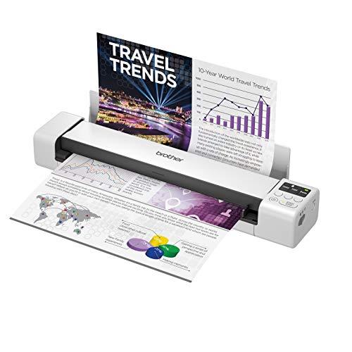 Brother DS-940DW scanner 600 x 600 DPI Sheet-fed scanner Black,White A4
