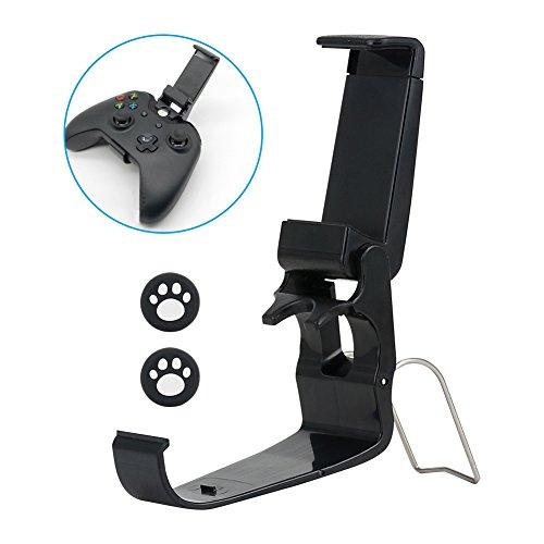 GLANICS Faltbare XBox One Controller Handyhalter, Game Pad Joystick Telefon Clip mit Ständer für iPhone Samsung Sony