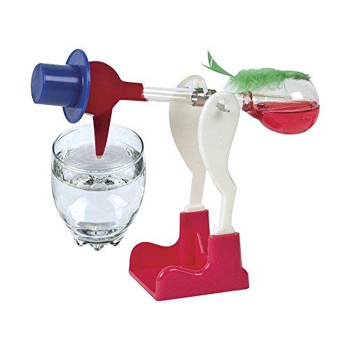 ACHICOO Lustiges Spielzeug, Kreatives Non-Stop-Flüssigtrinkglas Lucky Bird Lustiges Entengetränk Wasser Schreibtischspielzeug Perpetual Motion Random Kinder, Freunde