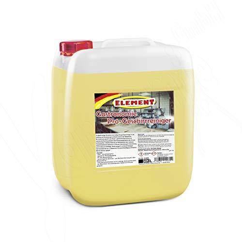 Geschirrreiniger für gewerbliche Spülmaschinen flüssig 12 kg, Maschinenspülmittel Profi 10L ohne Chlor für gewerbliche Spülmaschinen...
