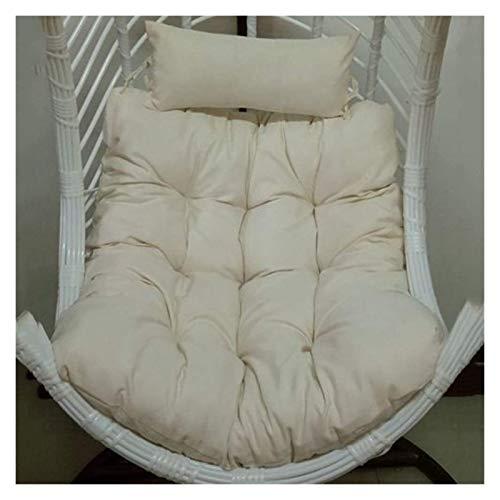 DYYD - Cojín para silla de huevo colgante con almohada, para colgar cesta de asiento sin soporte, diseño de huevo