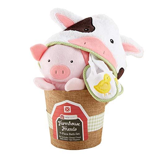 Baby Aspen, Farmhouse Friends Seau de Bain 4 pièces 0-6 Mois