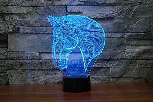 Minions 3D luz de noche pequeña toque colorido personalidad de cabecera empresa publicidad LOGO lámpara de escritorio personalizada