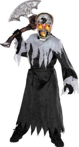 Crâne - Halloween - Costume de déguisement pour enfants - Moyen - 132cm
