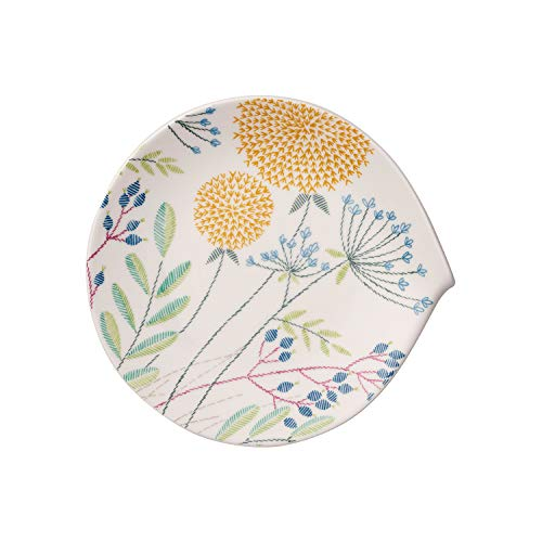 Villeroy & Boch 10-4245-2640 Flow Couture Fruehstuecksteller, Premium Porcelain