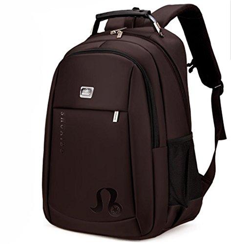 beibao shop Backpack - Grande capacité Ordinateur Sac à Dos Imperméable Résistant à l'usure Étudiant Sac d'école Contient Prise USB, 002