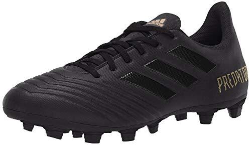 adidas Herren Predator 19.4 Firm Ground Fußballschuh, Schwarz (Schwarz/Schwarz/Gold Metallic), 45 EU