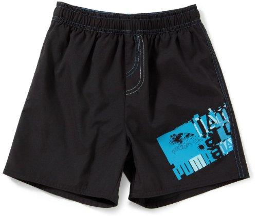 PUMA - Boxer de natación para niño, tamaño 128 UK, Color Negro