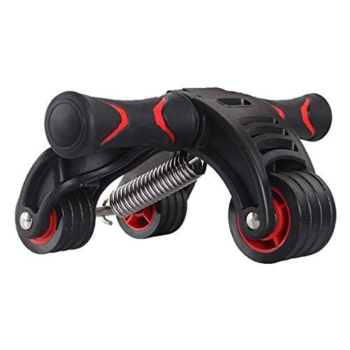YDHWT Bauchmuskel Rad -Roller Rad for Bauch-Übungen und Advanced Core Fitness - Mit Soft Knee Pad, Aufbewahrungstasche und Anleitung