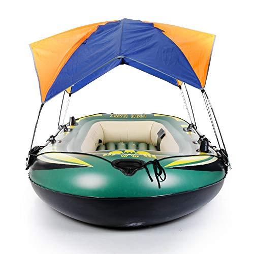 FFYUE Toldos Marinos, Matereb Material Protector Solar a Prueba de Lluvia y a Prueba de Viento, Camping Portátil Light Camping Barco Inflatable