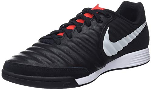 Nike Legend 7 Academy IC, Zapatillas de Fútbol Unisex Adulto, Negro (Black/Pure Platinum/Lt Crimson 006), 44 EU