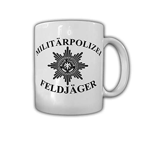 Tasse Militärpolizei Feldjäger MP Bundeswehr Abzeichen Stern Suum Cuique #30324