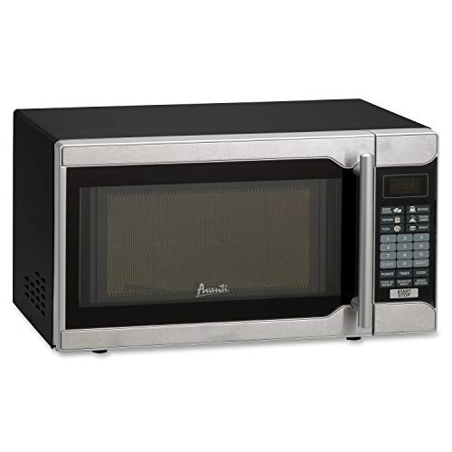 Avanti MO7103SST Counter Top Microwave Oven 0.7 Cu. Ft. Black/Stainless Steel