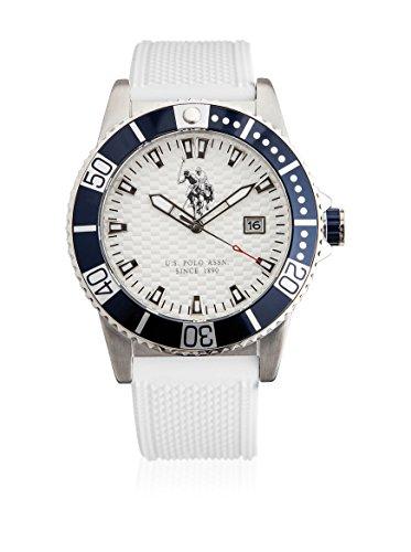 U.S.POLO ASSN. Uhr mit Miyota Uhrwerk Man Aspen USP4390WH 44.0 mm