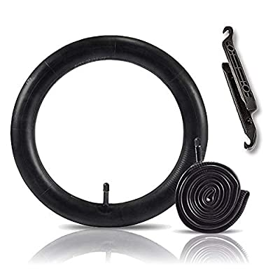 Hosali 2 Pack Bike Tube 26x1.95 with 2 Tire Levers, 26 Inch Bicycle Inner Tubes Replacement 32mm Schrader Valve fit 26x1.75 26x1.90 26x1.95 26x2 26x2.10 26x2.125 Mountain MTB Road Bike Tire