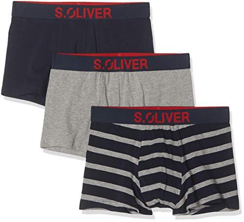 s.Oliver Herren 26.899.97.4255 Boxershorts, Mehrfarbig (Yellow 16b8), Large (Herstellergröße: 6)