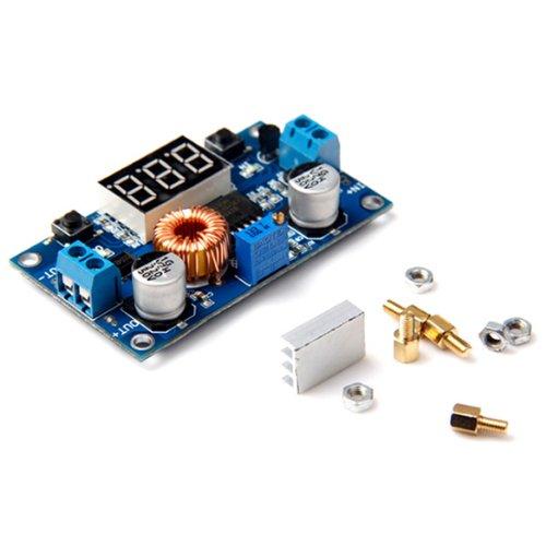 LAOMAO DC-DC Step Down Power Module 4V-38V to 1.25V-36V 5A Voltmeter Adjustable