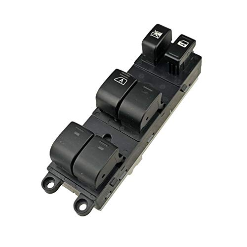 Interruptor de Control de Ventana Conductor de coche automático ABS delantera del lado izquierdo Energía Eléctrica Ventana Interruptor principal Botón for 05-08 Ajuste for Nissan Sentra 08-12 25401-ZT