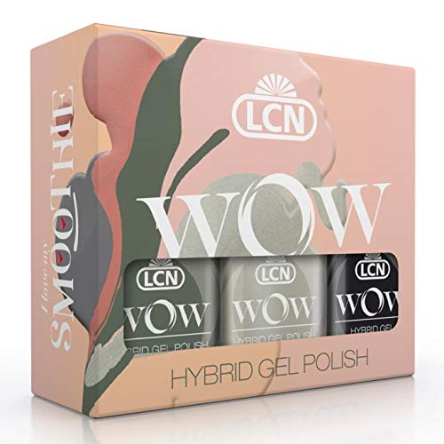 LCN WOW Trend Set #Smoothie 1 - Top Coat + 2 Farben