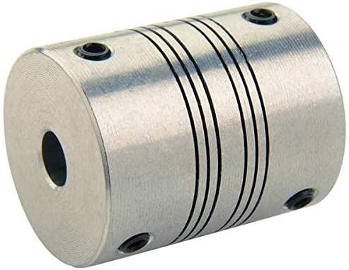 Ruland Manufacturing Coupling 4 Beam Set x Bore 8 mm Selling and [Alternative dealer] selling Screw