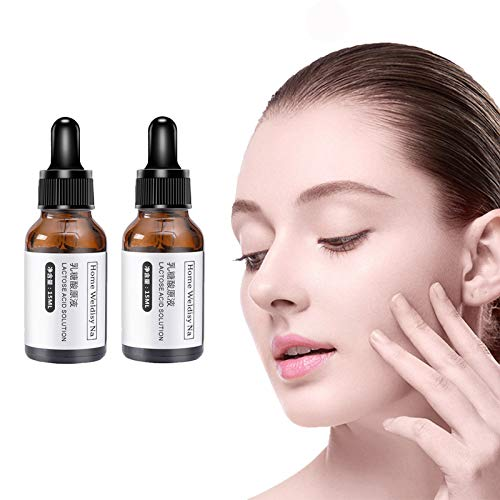 hhyt Wrinkless Anti-Aging Serum, Lactobionic Acid Concentrate Pore Shrinking Facial serum (2bottle)