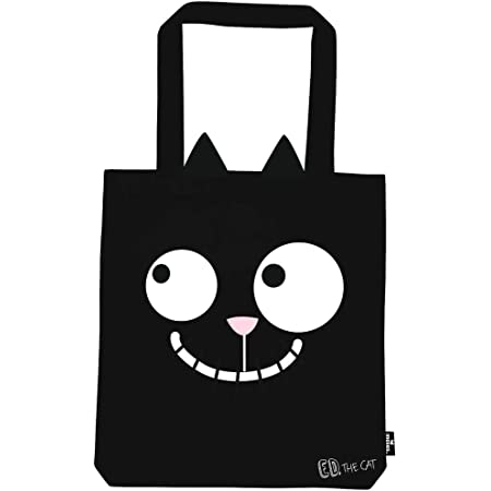Moses Ed, the Cat Shopper Ed in Love | Tragetasche aus 100% Baumwolle