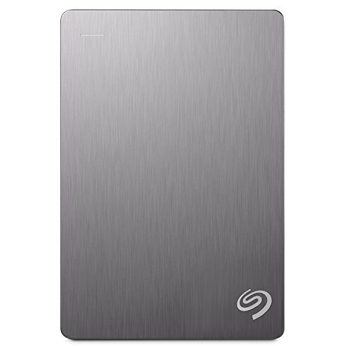 Seagate 4TB Backup Plus (Silver) USB 3.0 External Hard Drive for PC/Mac...