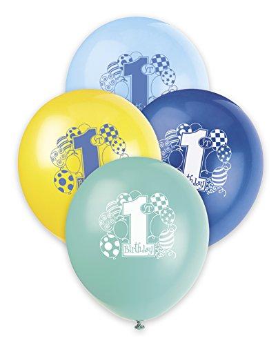 Blau Geburtstag Kunststoff Latex-Ballons 12