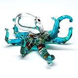 ZOOCRAFT Sea Octopus Glass Figurine Ornament...