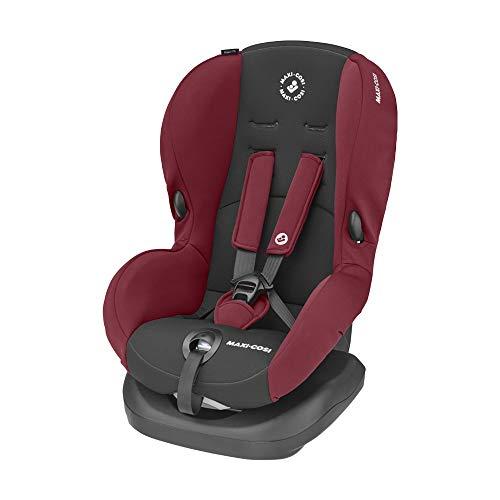 Maxi-Cosi Priori SPS + Kindersitz mit optimalen Seitenaufprallschutz und 4 Sitz- und Ruhepositionen, Gruppe 1 (9-18 kg), nutzbar ab 9 Monate bis 4 Jahre, basic red (rot)