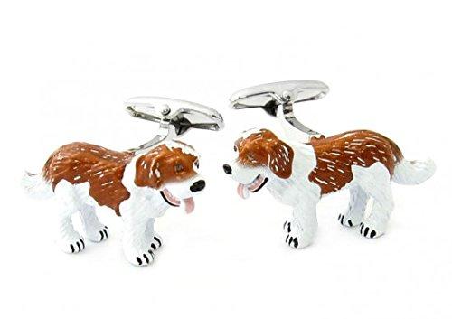 Boutons de manchette chien Labrador 3d Safari Collection | Pour hommes et garçons | Cadeaux pour mariages, communions, baptêmes et autres événements