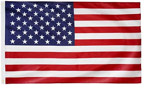 DANF American Flag 3x5 Feet USA Banner 100D Thicker Polyester US United State Flags with Brass product image